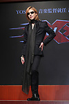 """Yoshiki attends the press conference for Hollywood movie """"xXx 4"""" in Tokyo, Japan on January 25. Yoshiki has been appointed as the music director for the movie starring Vin Diesel."""