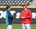 MLB: Shohei Ohtani meets Ichiro Suzuki