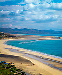 Spanien, Kanarische Inseln, Fuerteventura, Playa de Sotavento de Jandia: kilometerlanger Strand   Spain, Canary Island, Fuerteventura, Playa de Sotavento de Jandia: endless beach