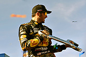 2017 Monster Energy NASCAR Cup Series - Kobalt 400<br /> Las Vegas Motor Speedway - Las Vegas, NV USA<br /> Sunday 12 March 2017<br /> Martin Truex Jr, Bass Pro Shops/TRACKER BOATS Toyota Camry celebrates his win in Victory Lane<br /> World Copyright: Nigel Kinrade/LAT Images<br /> ref: Digital Image 17LAS1nk07541