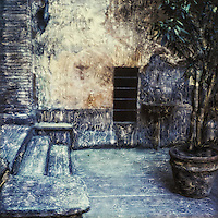Courtyards and plaza provide the villagers with a place to meet and to share.<br />