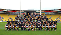 131017 Rugby - Wellington Lions Team Photo