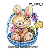 EASTER, OSTERN, PASCUA, paintings+++++,KL4570/3,#e#, EVERYDAY ,rabbit,rabbits ,sticker,stickers