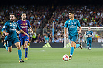 Marco Asensio Willemsen of Real Madrid (R) in action during the Supercopa de Espana Final 1st Leg match between FC Barcelona and Real Madrid at Camp Nou on August 13, 2017 in Barcelona, Spain. Photo by Marcio Rodrigo Machado / Power Sport Images