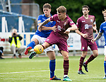 Queen of the South v St Johnstone…18.08.18…  Palmerston    BetFred Cup<br />Jason Kerr and Callum Semple<br />Picture by Graeme Hart. <br />Copyright Perthshire Picture Agency<br />Tel: 01738 623350  Mobile: 07990 594431