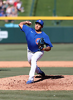 Manuel Rodriguez - Chicago Cubs 2020 spring training (Bill Mitchell)