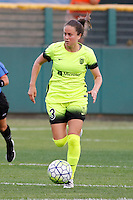 Rochester, NY - Saturday July 09, 2016: Seattle Reign FC defender Lauren Barnes (3) during a regular season National Women's Soccer League (NWSL) match between the Western New York Flash and the Seattle Reign FC at Frontier Field.