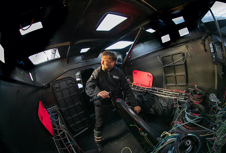 Alex Thomson has competed in the IMOCA circuit for 19 years including five successive Vendee Globe's with two podium finishes