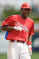 Mayberry, John Jr 7817.jpg. Minnesota Twins at Philadelphia Phillies. Spring Training Game. Saturday March 21st, 2009 in Clearwater, Florida. Photo by Andrew Woolley.
