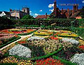 Tom Mackie, FLOWERS, photos, The Knot Garden at New Place, Stratford-upon-Avon, Warwickshire, England, GBTM871013-1,#F# Garten, jardín