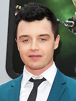 WESTWOOD, LOS ANGELES, CA, USA - AUGUST 03: Noel Fisher at the Los Angeles Premiere Of Paramount Pictures' 'Teenage Mutant Ninja Turtles' held at Regency Village Theatre on August 3, 2014 in Westwood, Los Angeles, California, United States. (Photo by Celebrity Monitor)