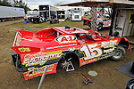 Feb 07, 2011; 3:34:32 PM; Gibsonton, FL., USA; The Lucas Oil Dirt Late Model Racing Series running The 35th annual Dart WinterNationals at East Bay Raceway Park.  Mandatory Credit: (thesportswire.net)