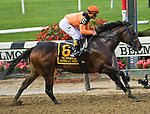 September 29, 2018 : Imperial Hint, wins the Vosburgh on Jockey Club Gold Cup Day at Belmont Park on September 29, 2018 in Elmont, New York. Sue Kawczynski/Eclipse Sportswire/CSM