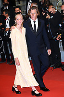 CANNES, FRANCE. July 10, 2021: Hazel Moder & Daniel Moder at the Flag Day Premiere at the 74th Festival de Cannes.<br /> Picture: Paul Smith / Featureflash