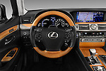Car pictures of steering wheel view of a 2016 Lexus LS President Line  4 Door Sedan Steering Wheel