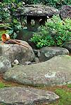 Asia, Japan, Nagasaki, Hirado, Samurai Residence Garden
