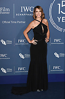 Alex Jones<br /> arriving for the 2018 IWC Schaffhausen Gala Dinner in Honour of the BFI at the Electric Light Station, London<br /> <br /> ©Ash Knotek  D3437  09/10/2018