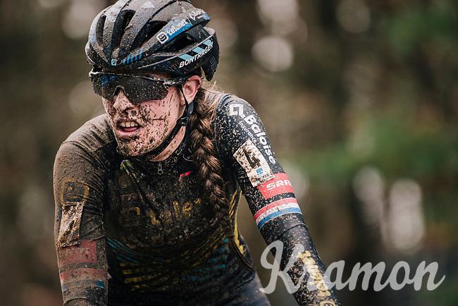 Lucinda Brands (NED/Telenet-Baloise Lions) post race face<br /> <br /> Women's race at the X2O Herentals Cross 2020 (BEL)<br /> <br /> ©kramon
