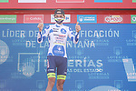 Rein Taaramäe (EST) Intermarché-Wanty-Gobert Matériaux also retains the mountains Polka Dot Jersey at the end of Stage 6 of La Vuelta d'Espana 2021, running 158.3km from Requena to Alto de la Montaña Cullera, Spain. 19th August 2021.    <br /> Picture: Luis Angel Gomez/Photogomezsport   Cyclefile<br /> <br /> All photos usage must carry mandatory copyright credit (© Cyclefile   Luis Angel Gomez/Photogomezsport)