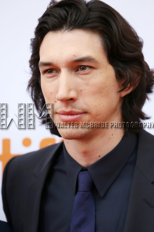 Adam Driver attending the 'While We're Young' red carpet arrivals during the 2014 Toronto International Film Festival at the Princess of Wales Theatre on September 6, 2014 in Toronto, Canada.