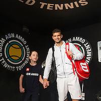 ABN AMRO World Tennis Tournament, Rotterdam, The Netherlands, 16 Februari, 2017, Grigor Dimitrov (BUL)<br /> Photo: Henk Koster