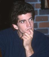 John Kennedy, Jr. 1983<br /> Photo By John Barrett/PHOTOlink.net