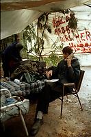 La crise d'Oka : les mohawks<br /> <br /> PHOTO : Agence Quebec Presse - Shaney Komulainen