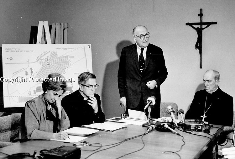 Diplomat George Ignatieff.<br /> <br /> Photo : Boris Spremo - Toronto Star archives - AQP