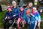 Enjoying the afternoon in the playground in the Tralee town park on Thursday. L to r: Natalia and Kasia Adamek, Sofia, Patricia and Susanna Nowicki