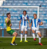 12th September 2020 The John Smiths Stadium, Huddersfield, Yorkshire, England; English Championship Football, Huddersfield Town versus Norwich City;  Alex Pritchard of Huddersfield Town traps the ball