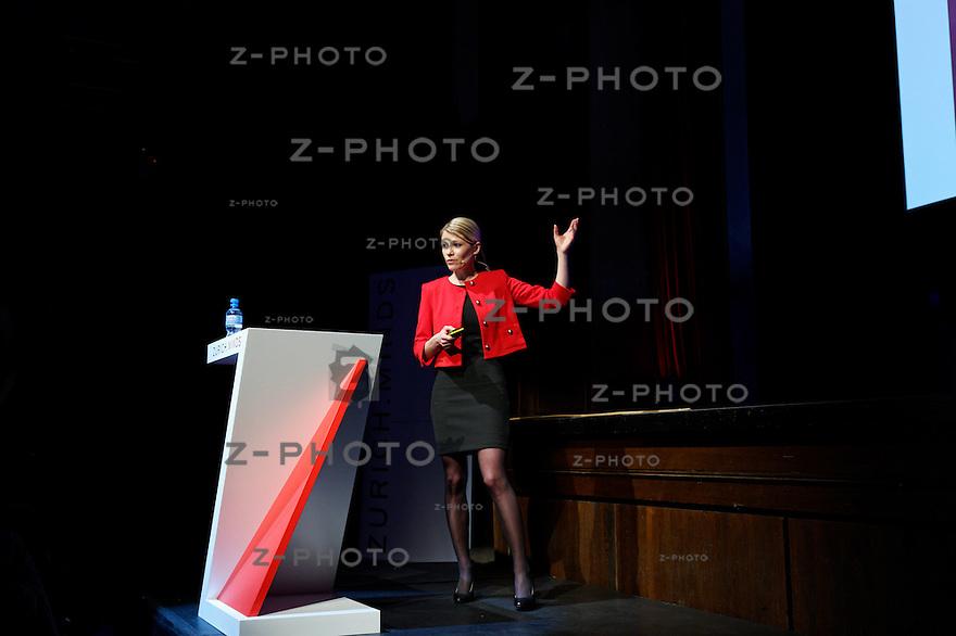 Simone Schürle, ETH Zurich am<br /> Zurich Minds im Kaufleuten Zuerich am Mittwoch 12. Dezember 2012<br /> <br /> Copyright © Zvonimir Pisonic
