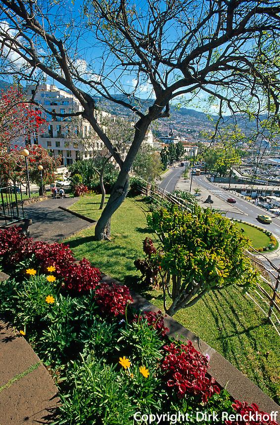 Portugal, Madeira, Parque de Santa Catarina in Funchal