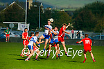 Action from Castleisland Desmonds and An Ghaeltacht in the Intermediate Club football Championship Quarter-Final