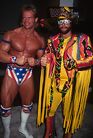 Randy Macho Man Savage & Lex Luger 1993<br /> Photo By John Barrett/PHOTOlink