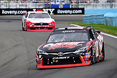 NASCAR XFINITY Series<br /> Zippo 200 at The Glen<br /> Watkins Glen International, Watkins Glen, NY USA<br /> Saturday 5 August 2017<br /> Kyle Busch, NOS Rowdy Toyota Camry, Brad Keselowski, REV/Fleetwood Ford Mustang<br /> World Copyright: John K Harrelson<br /> LAT Images
