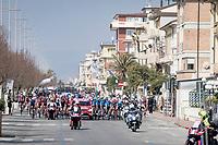 roll-out of stage 1 from Lido di Camaiore to Lido di Camaiore (156km)<br /> <br /> 56th Tirreno-Adriatico 2021 (2.UWT) <br /> <br /> ©kramon