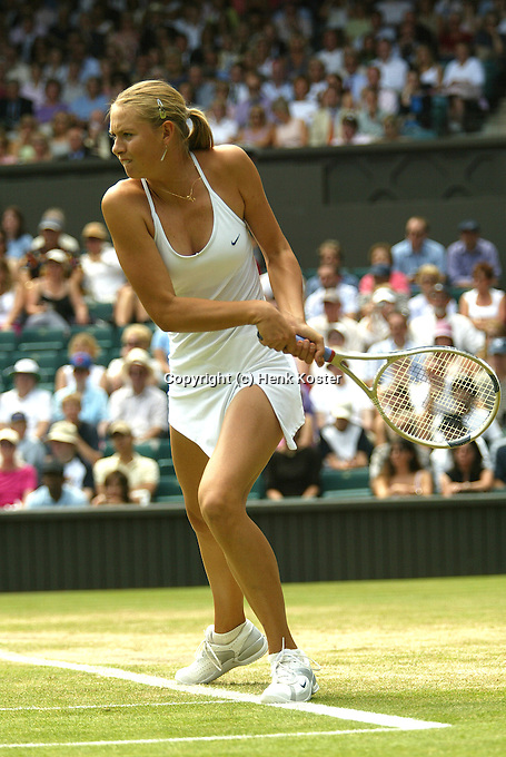 29-06-2004, London, tennis, Wimbledon, Maria Sharapova