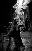 12.2010 Varanasi (Uttar Pradesh)<br /> <br /> Street scene .<br /> <br /> Scène de rue.