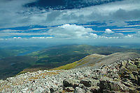 Loch Tummel from the summit of Schiehallion, Perthshire