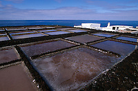 Spanien, Kanarische Inseln, La Palma, Fuencaliente, Saline beim Leuchtturm