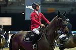 Rider Philippe Rozier of France during the Longines Masters of Hong Kong on 18 February 2016 at the Asia World Expo in Hong Kong, China. Photo by Juan Manuel Serrano / Power Sport Images