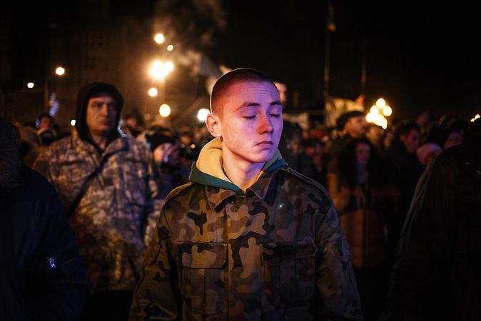 Lemberg nach dem Sturz Janukowitschs am 24.02.2014 / Lviv after the fall of Yanukovich