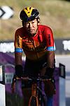 Giro d'Italia 2020 Cycling Tour of Italy on 21/10/2020 in Madonna di Campiglio, Italy. Stage 17th between Bassano del Grappa and Madonna di Campiglio. In action Yukiya Arashiro (Jpn) Bahrain McLaren