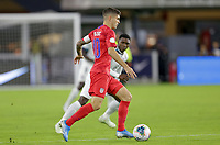 WASHINGTON, D.C. - OCTOBER 11: Christian Pulisic #10 of the United States dribbles the ball during their Nations League game versus Cuba at Audi Field, on October 11, 2019 in Washington D.C.