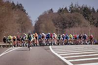 peloton at km0<br /> <br /> 45th Oxyclean Classic Brugge-De Panne 2021 (ME/1.UWT)<br /> 1 day race from Bruges to De Panne (204km)<br /> <br /> ©kramon