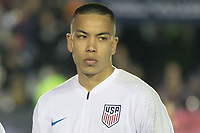 Cary, N.C. - Tuesday March 27, 2018: The Men's National teams of the United States (USA) and Paraguay (PAR) played an International friendly game at Sahlen's Stadium at WakeMed Soccer Park.