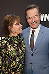 "Robin Dearden and Bryan Cranston attends the Broadway Opening Night After Party  for ""Network"" at Jack's Studios on December 6, 2018 in New York City."