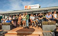 Netherlands, September 12,  2021, Naaldwijk KIA Competition mixed, premier league, LTC Naaldwijk vs TC Leimonias, womans doubles:: supporters<br /> Photo: Henk Koster/tennisimages.com