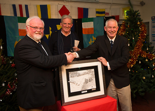 Pierce Purcell Awarded the Lif1D0A0699 - Copy: Pierce Purcell -  Lifetime Achievement Award presented by Johnny Shorten Commador of the Galway Bay Sailing Club and Aonghus Concannon