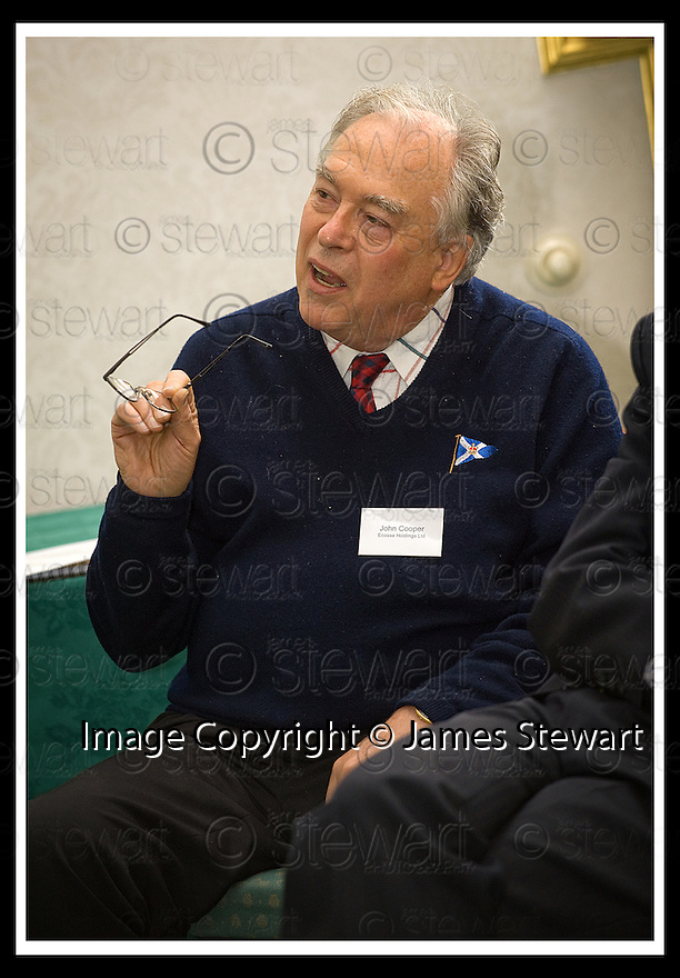 04/11/2008  Copyright Pic: James Stewart.File Name : 18_charan_gill.FALKIRK BUSINESS PANEL :: TALK BUSINESS :: JOHN COOPER, ECOSSE HOLDINGS LTD, DURING THE Q&A SESSION WITH CHARAN GILL MBE.James Stewart Photo Agency 19 Carronlea Drive, Falkirk. FK2 8DN      Vat Reg No. 607 6932 25.Studio      : +44 (0)1324 611191 .Mobile      : +44 (0)7721 416997.E-mail  :  jim@jspa.co.uk.If you require further information then contact Jim Stewart on any of the numbers above.........